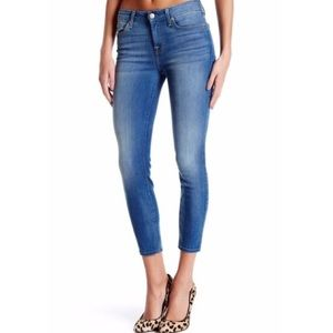 7FAM cropped skinny jean ankle